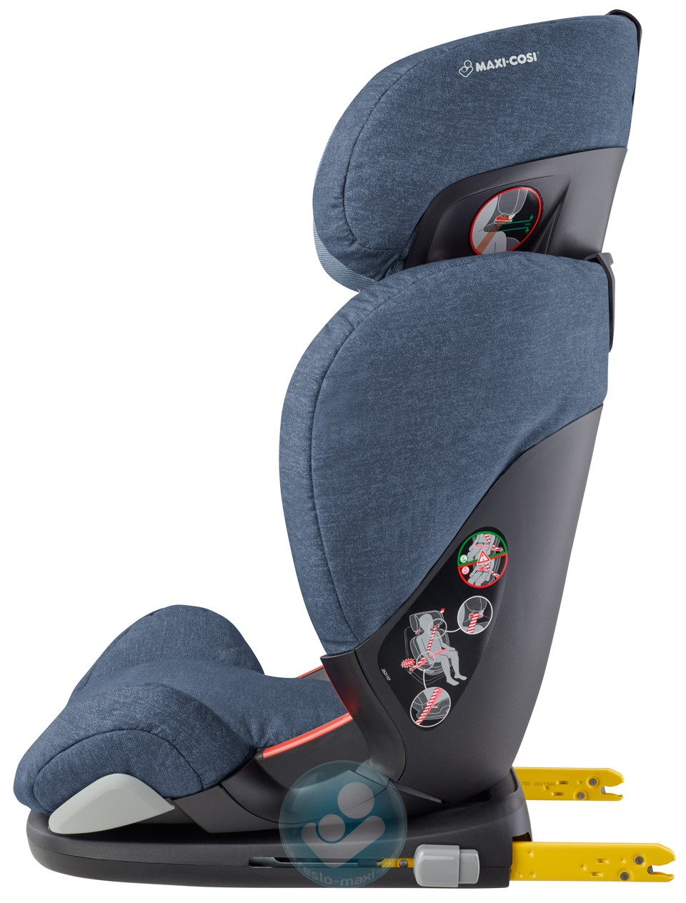 maxi cosi rodifix airprotect вид сбоку